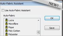 Wilcom Auto Fabric Assistant